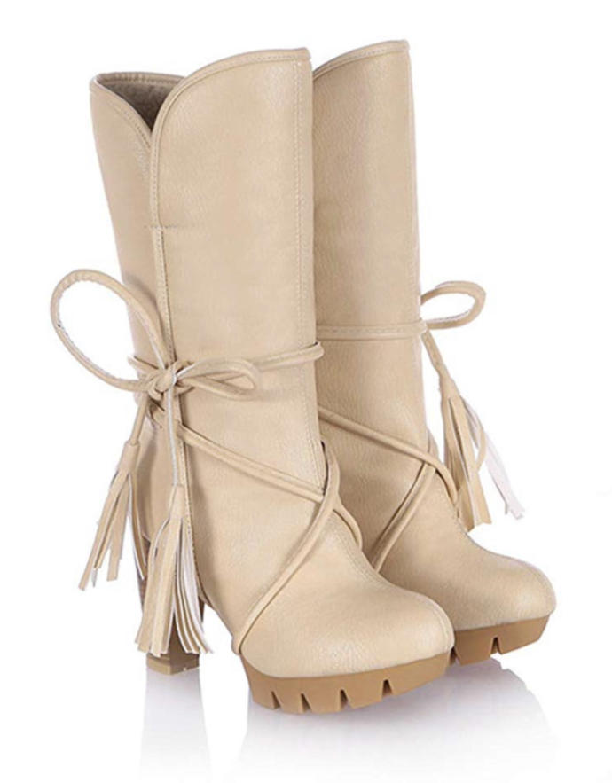 Which color is nicer for these boots? Which would you rather your girlfriend wear?