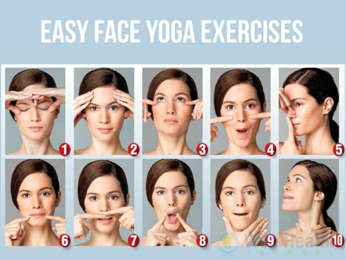 Have you ever heard of facial yoga?