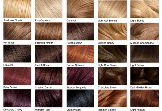 [BOTH NATURAL AND UNNATURAL (a. k. a. dyed) COLORS COUNTS. +YOU CAN CHOOSE COLORS NOT LISTED ON THE PICTURE]
