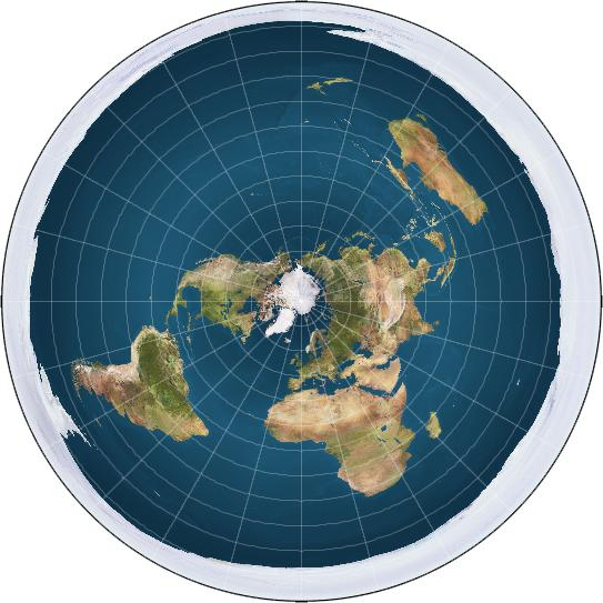 I didn't know we have a flat earth society. Is there any flat earther here?