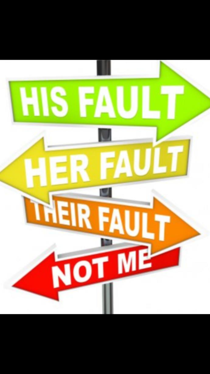 Why do some people always try to deflect the blame of their actions/behavior/mistakes onto someone else?