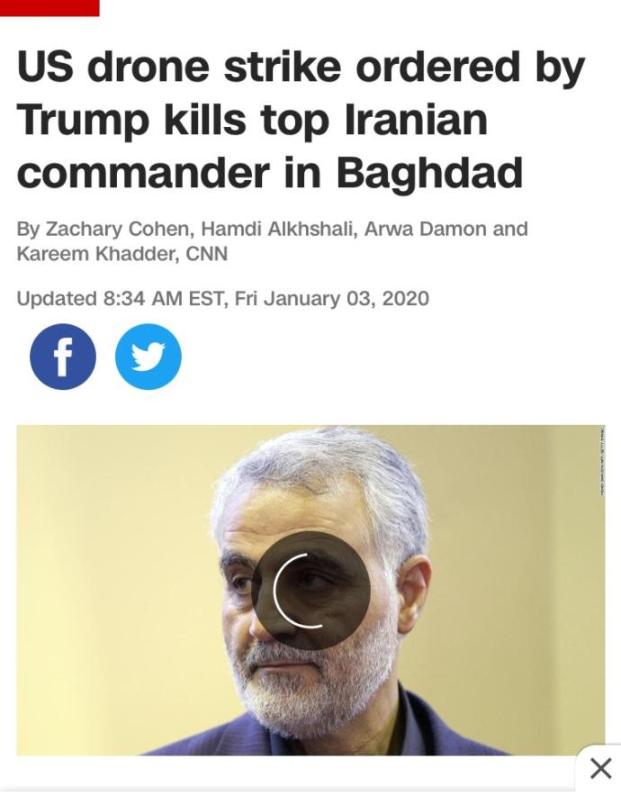 Trump's Ordered Airstrike Kills Top Iranian Commander In Baghdad. Good Move Or Bad Move?