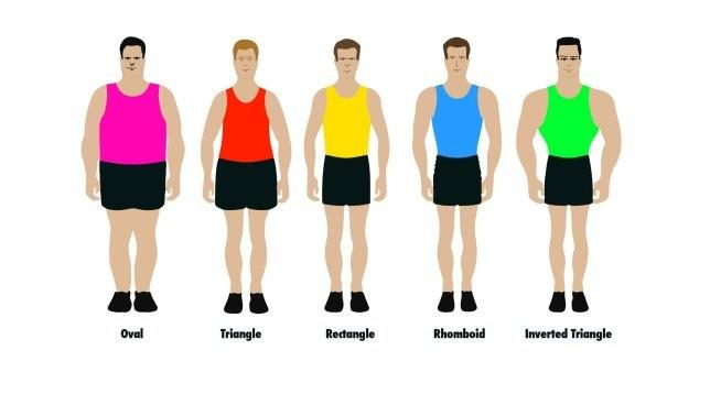 Which body types looks the best on men?