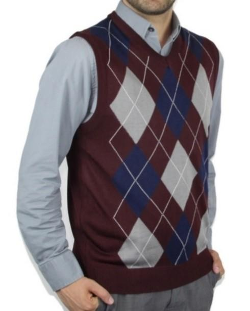 Sweater vest and button shirt. Yay or nay?