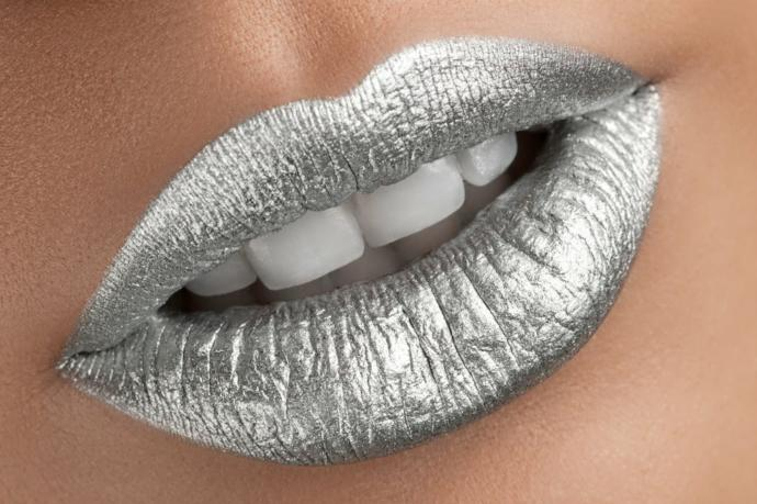 What do think of gold or sliver lipstick?