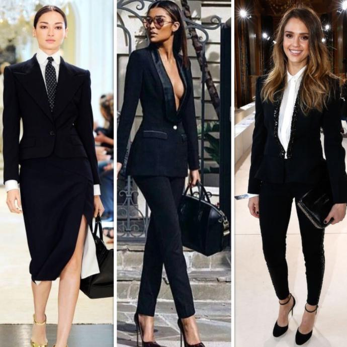 What blazer/suit style would look best on a girl?