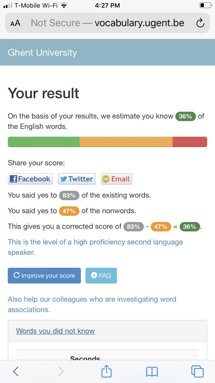 How fluent are you in he English language?
