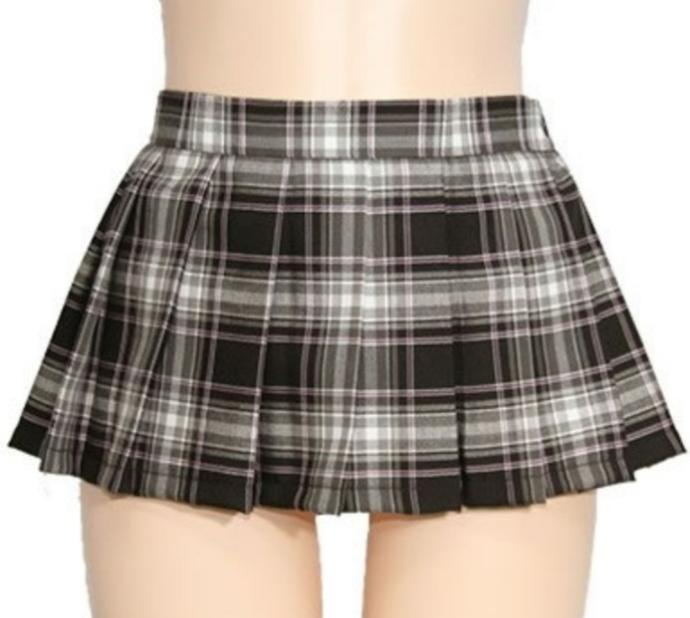 How short of a skirt is inappropriate for school?