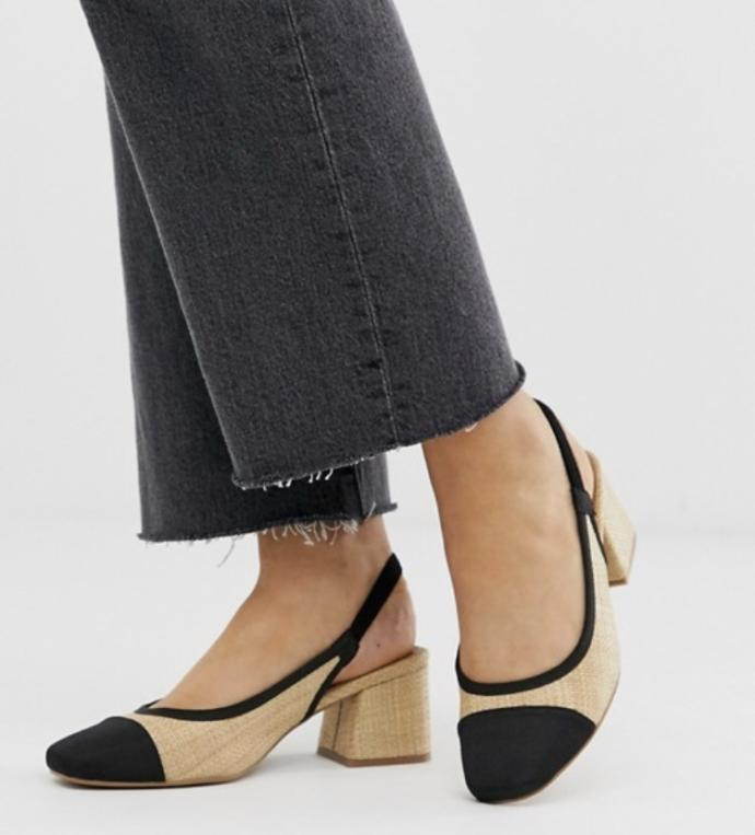 Do the dupe Chanel slingbacks look as good as the real ones?