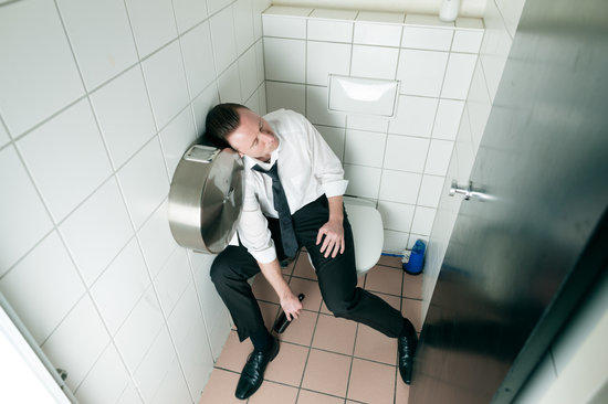 Have you ever fallen asleep on the toilet?