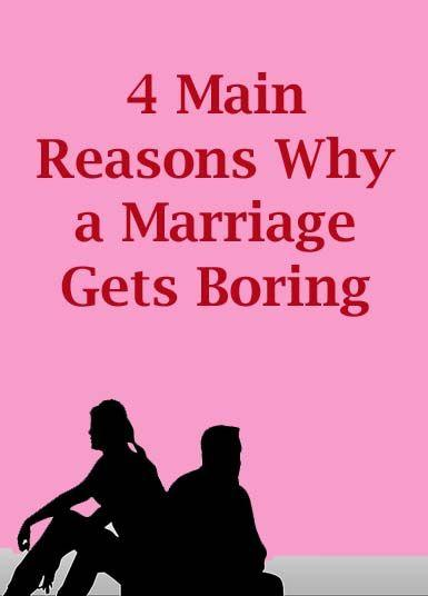 At some point, do long-term relationships/marriage just become... boring?
