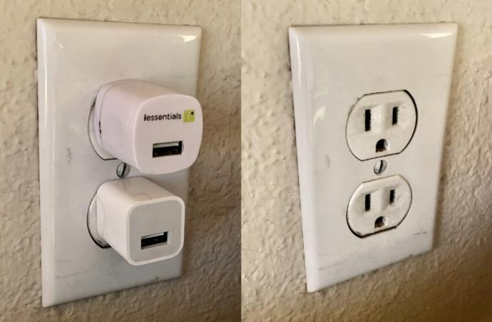 Do you leave your charging adapters plugged even when theyre not in use or do you remove them from the outlets?