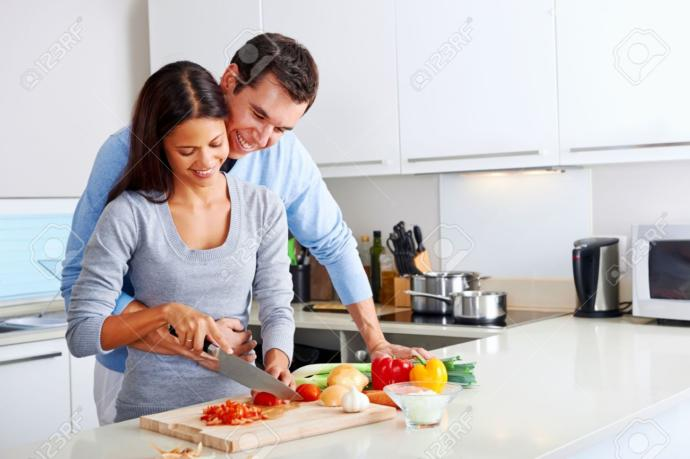 Does your partner cook for you?