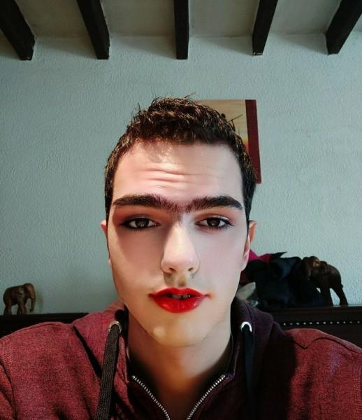 What do you think of the makeup my girlfriend did to me?