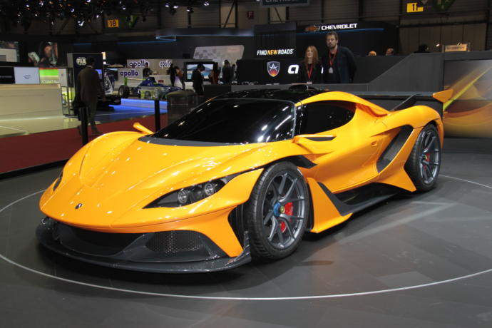 Which of  7 these Supercars that you have  probably never heard of would you choose?