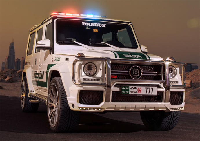 Which of these Dubai Police cars are your favorite?