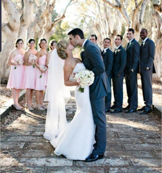 How many bridesmaids/groomsmen would you have at your wedding?