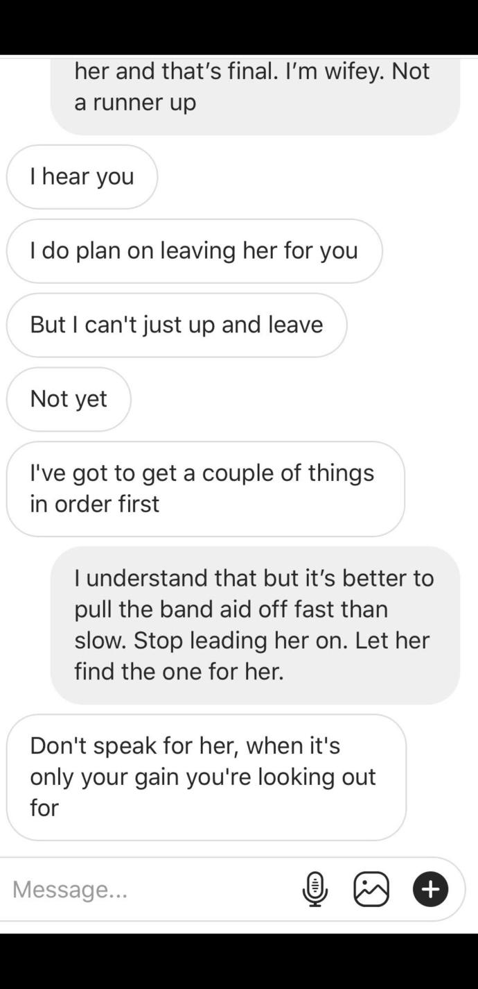 My husband said these things about me?