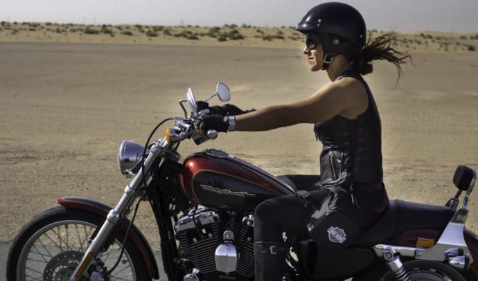 Are women more badass riding Harleys or riding  street bikes?