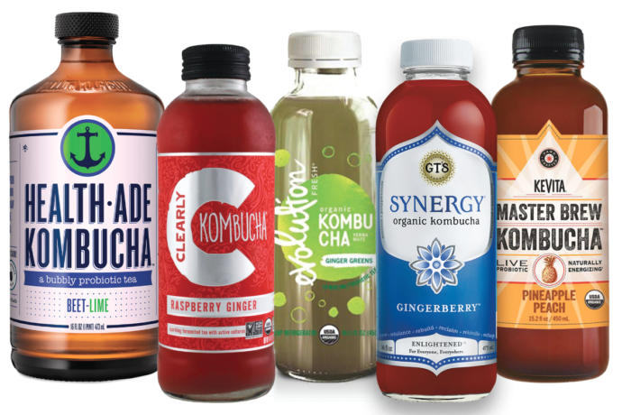 Is drinking 6 ounces of Kombucha a very good way to improve intestinal health?