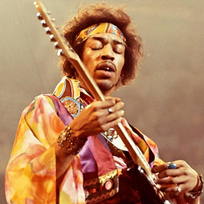 Which iconic black rocker was a better musician?