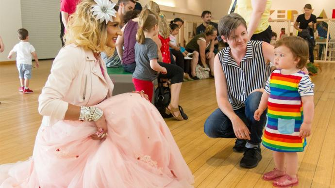 What do you think of the idea of drag queen story time?