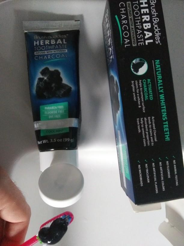 What do you think of the idea of charcoal toothpaste?