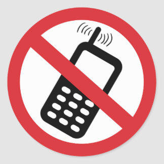 Anti-cellphone movement