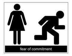Why do some people fear a committed relationship?