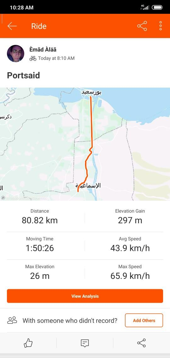 Did any ride bike for long distance?