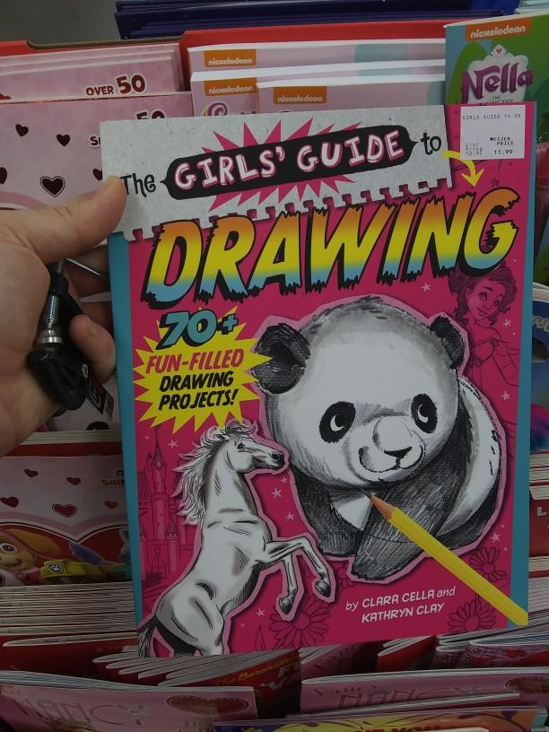 What do you think of a girls guide to drawing?