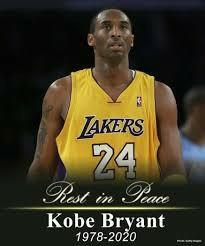 Have any of you heard of the tragic news of what happened to Kobe Bryant today?
