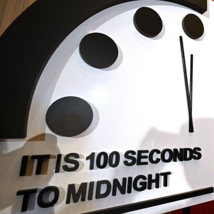 The Doomsday Clock is now set more closely to midnight (a symbol for global annihilation) than ever before. Opinions?