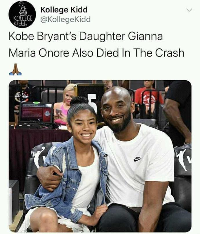 Kobe bryant dies in helicopter crash?