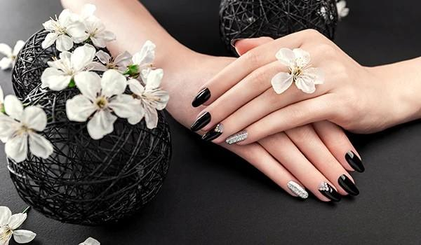 Girls, would you ever use black nail polish at a funeral or white nail polish at a wedding?