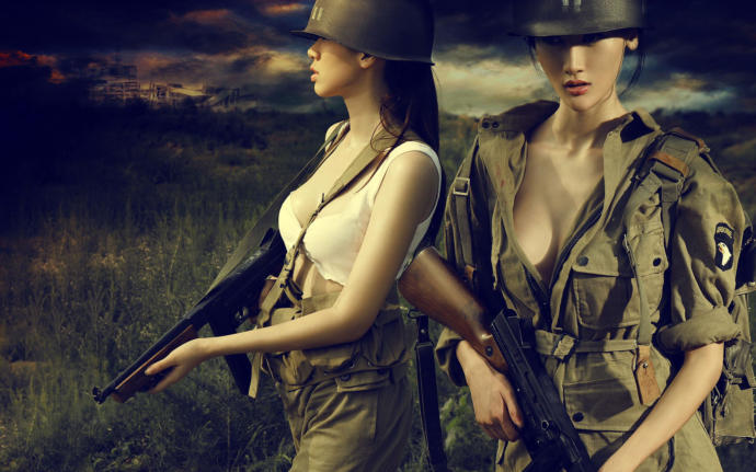 Is it true that young female soldiers captured on the battlefield are more likely to be raped by the enemy than captured guys are?