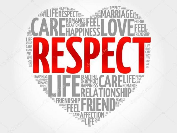 Give respect to get respect!!