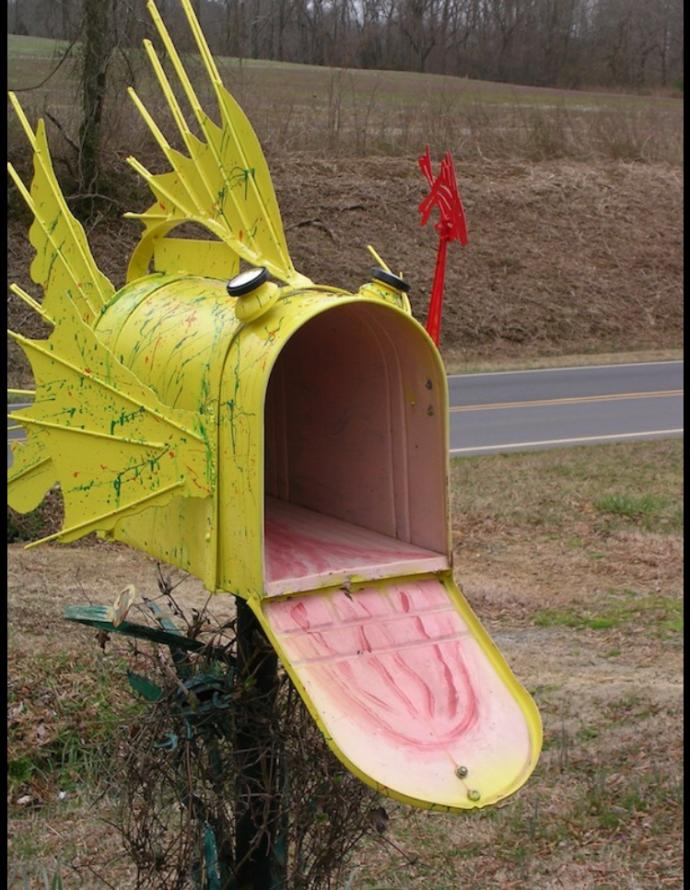 Why would someone vandalize a mailbox? And only one mailbox of all mailboxes in an entire neighborhood?
