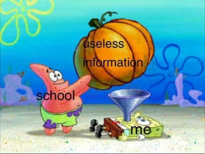 What is the most useless school subject?