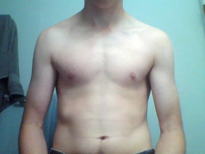 Me now (still pretty skinny)