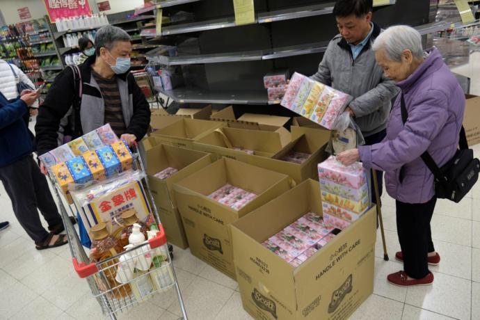 Coronavirus fears lead to panic buying of essentials in Hong Kong?