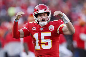 This is our champion quarterback and Super Bowl LIV MVP!