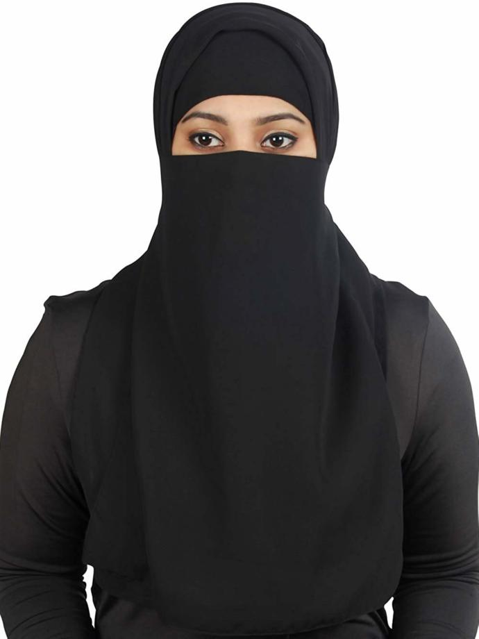 Would you like to have sex with your girl wearing Hijab or you wearing one as a woman?