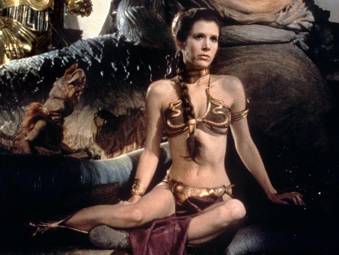 Is Slave Leia degrading?