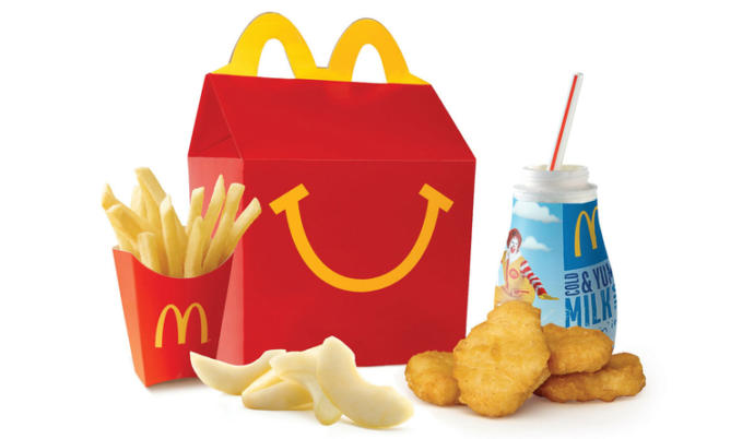 McDonalds: Happy Meal: Out of this list what did you get in the good old days as a kid?