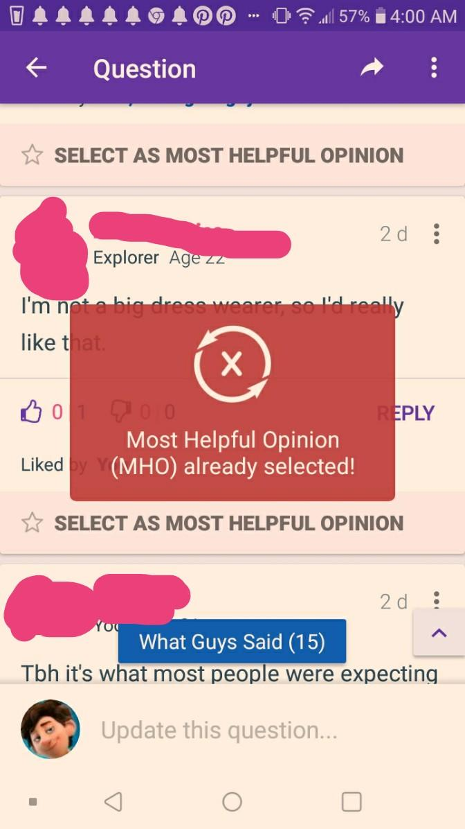 Have you seen this yet, Ive recently tried to award MHO to four people and gag blocked after two?
