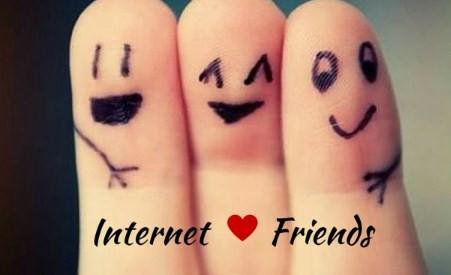 Would you like to call out a special gag friend on internet friend day, which is today?