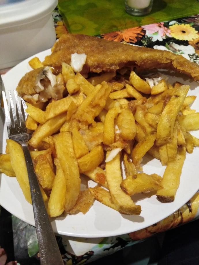 Have you ever had fish and chips and if so did you like it?