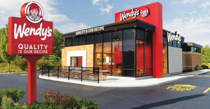Modern Wendys Restaurant