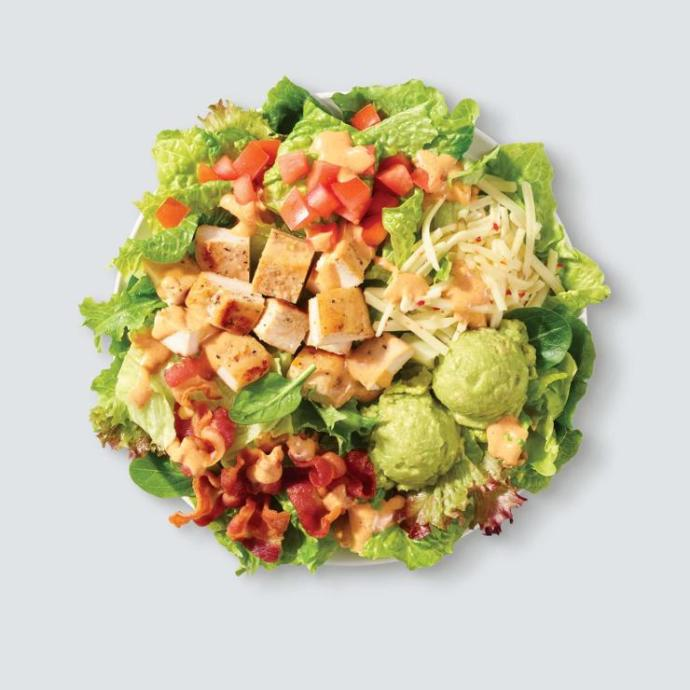 Wendys: Salad Menu: Out of this list what would you order?
